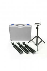 Case with tripods - 4 pcs.