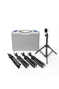 Case with tripods - 5 pcs.